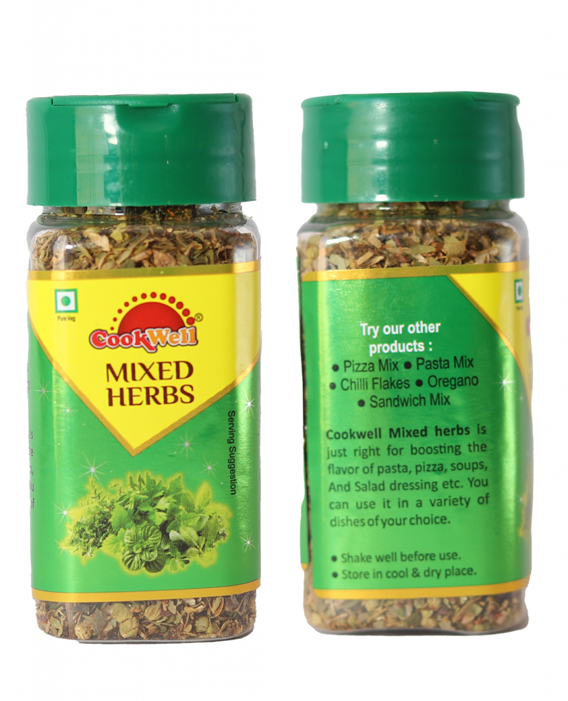Cookwellfoods - MIxed herbs