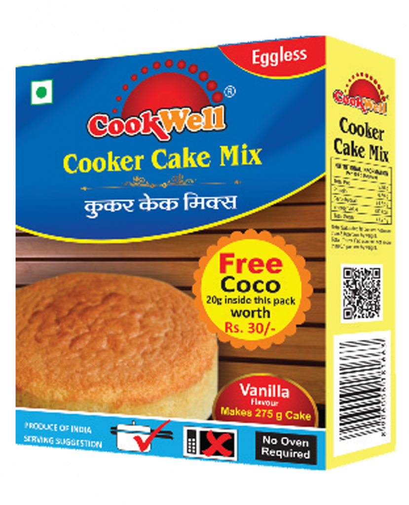 Cookwellfoods -Cooker cake mix