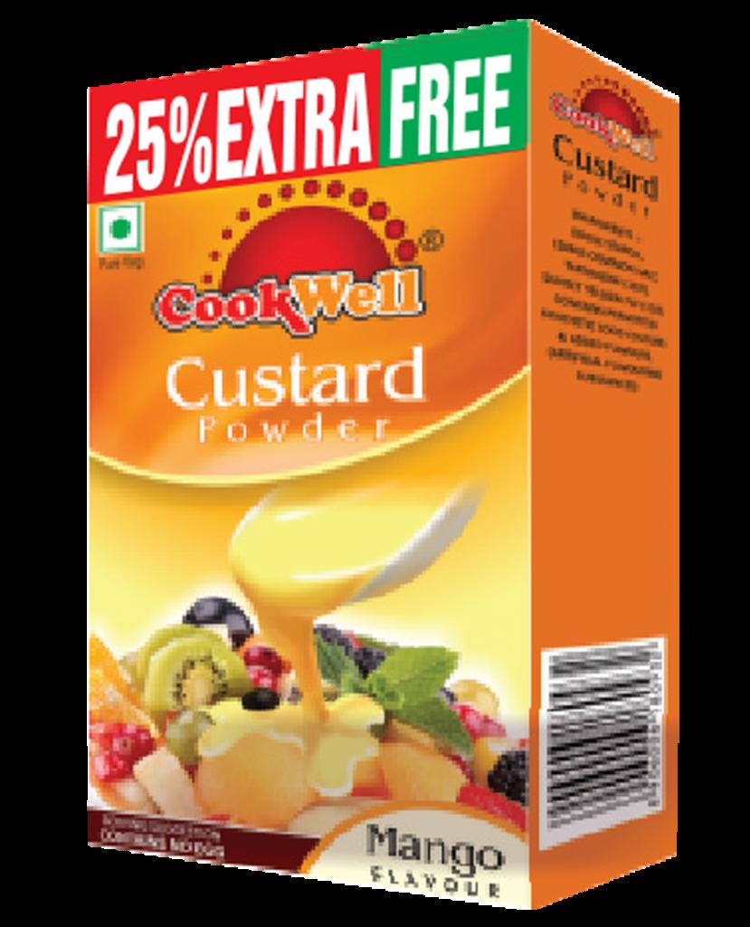 Cookwellfoods - custard mango