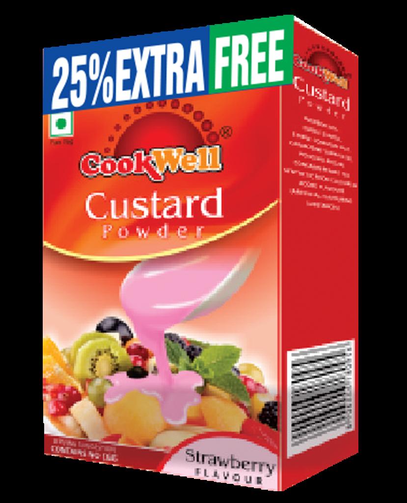 Cookwellfoods - custard strawberry