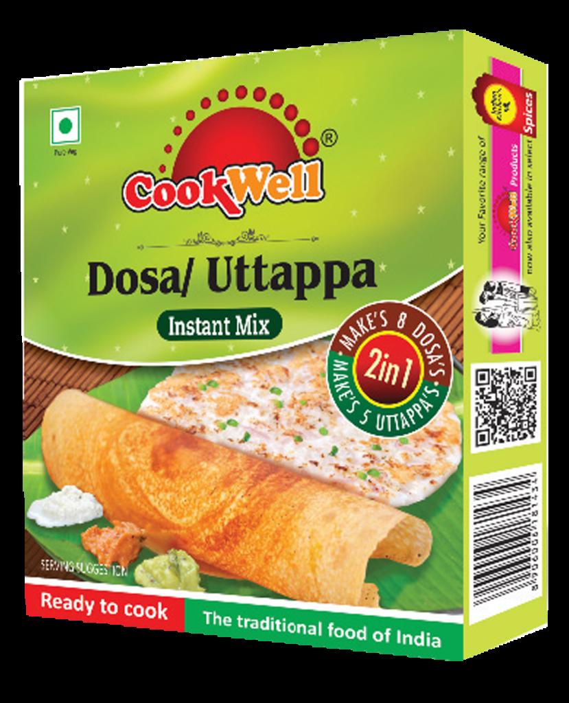 Cookwellfoods - Dosa uttappa mix