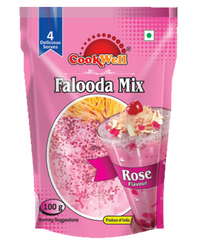Cookwellfoods - falooda mix rose flavour