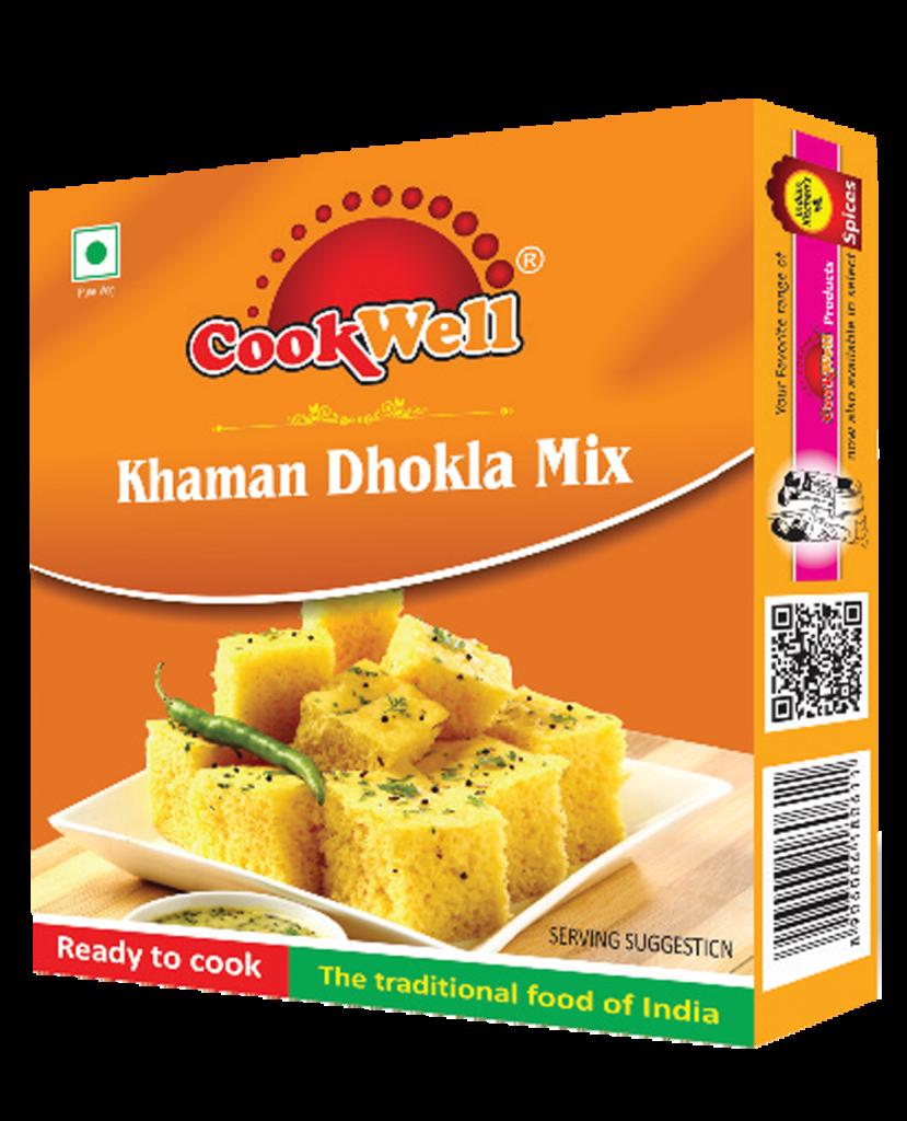 Cookwellfoods - khaman dhokla mix